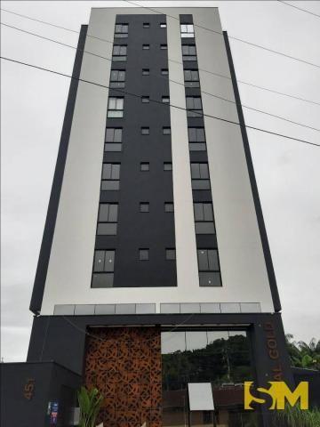 Apartamento com 2 dormitórios para alugar, 72 m² por R$ 1.700/mês - Bom Retiro - Joinville