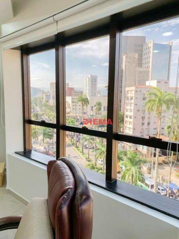 Sala à venda, 78 m² por R$ 590.000,00 - Gonzaga - Santos/SP - Foto 4