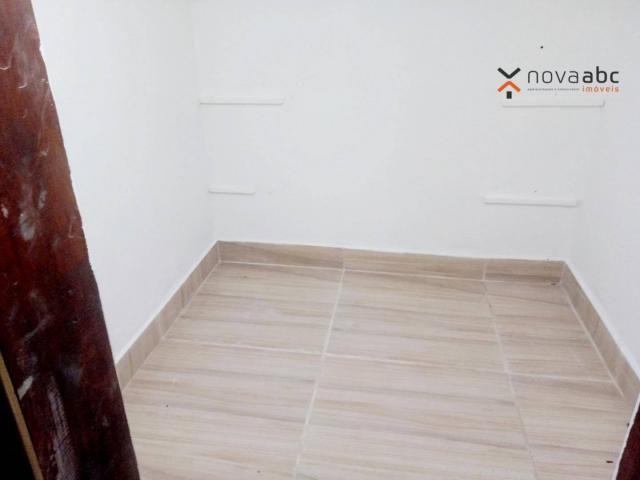 Sobrado com 4 dormitórios para alugar, 260 m² por R$ 4.500,00/mês - Vila Homero Thon - San - Foto 13