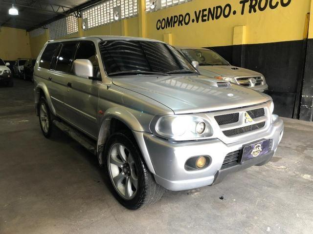 Pajero Sport Hpe 2004 4x4 Diesel - Foto 2