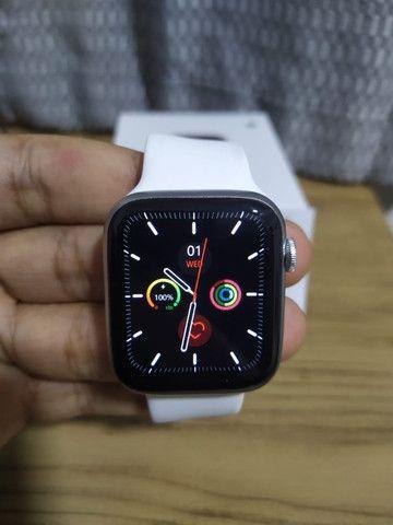 Smartwatch iwo w26 relogio inteligente tela infinita - Foto 4