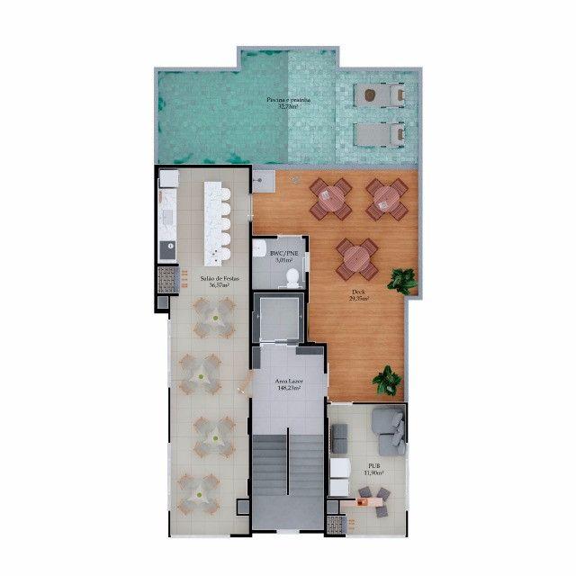 Apartamentos com 02 dorms, sendo 01 suíte, lançamento!!! Morretes Itapema - Foto 2
