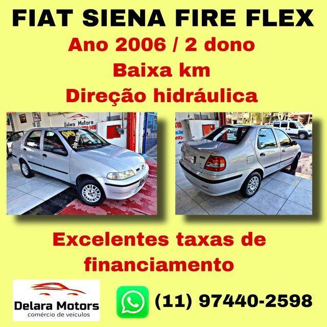 Siena Fire Flex C/ Direção 2006