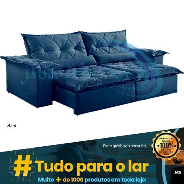 Sofá Retrátil Ouro Preto Plus