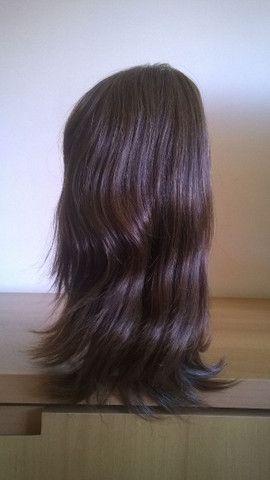 Peruca de cabelo humano - Foto 3