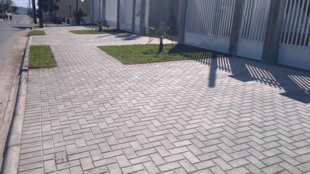 Piso paver intertravado, piso concreto, tijolinho, bloco de concreto - Foto 3