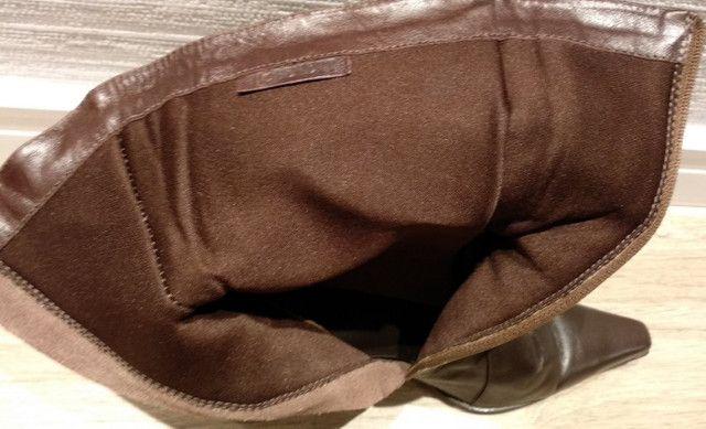 Bota e bolsa de couro apenas 85 reais!! - Foto 3