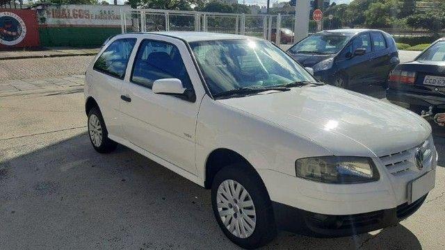 VW Gol 1.0 GIV 2009 Branco Completo, Exc. Estado. - Foto 2