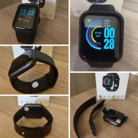 [PrOMOÇÃO] Smartwatch Relógio Inteligente D20/Y68 - Foto 6