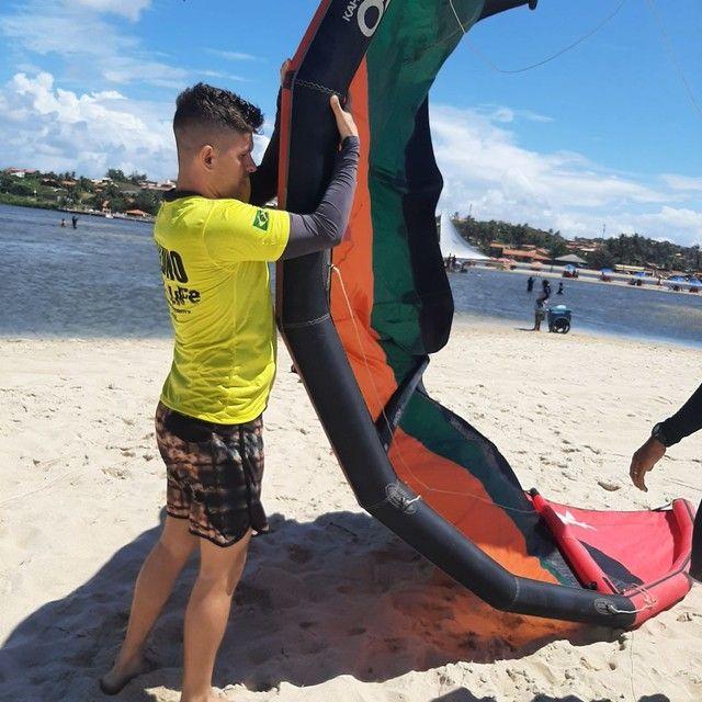 Curso de kite surf com baixo custo  - Foto 4