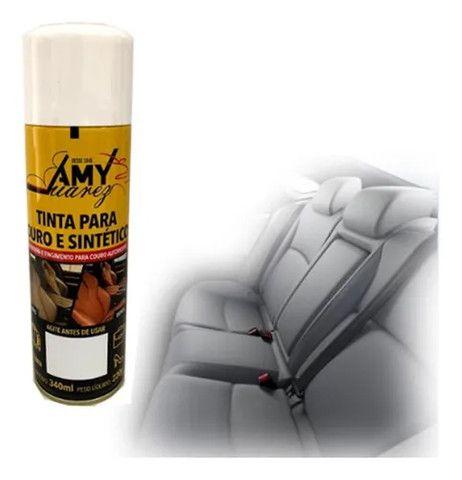 Tinta Spray para Couro e Sintéticos - Foto 9