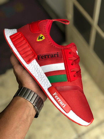 Tênis adidas Nmd Ferrari $150,00 - Foto 2