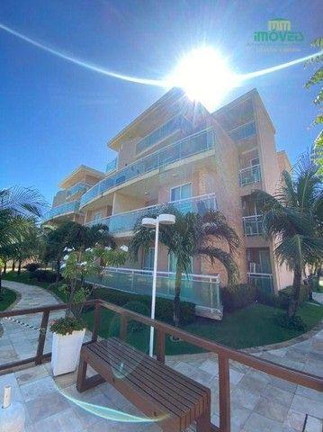 Apartamento com 5 dormitórios para alugar, 126 m² por R$ 4.000,00/mês - Porto das Dunas -  - Foto 13