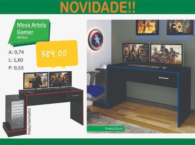 Mesa para escritório gamer