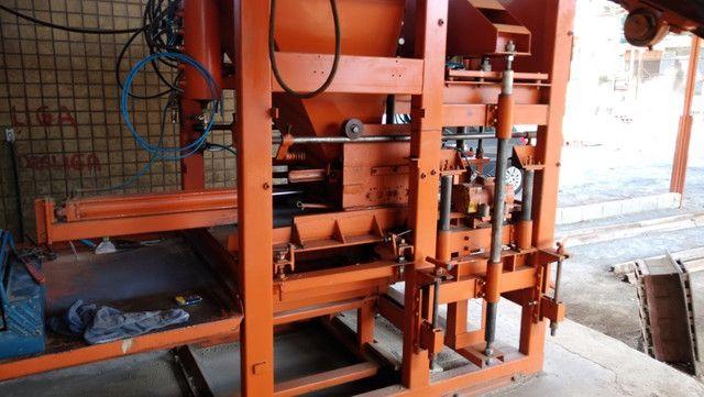 Máquina de Bloco e Compressor 15 hp