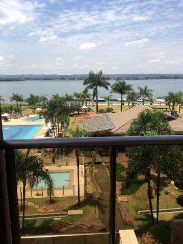 Apartamento com linda vista para o lago - Life Resort