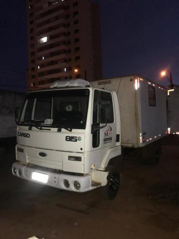 Ford Cargo 815 2007 3 4 Bau Oficina Caminhoes Goiania Goias
