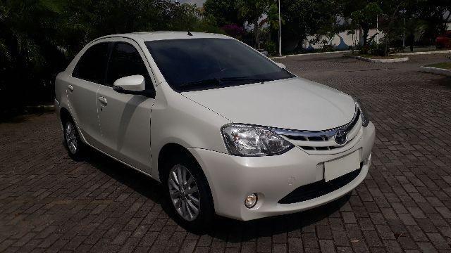 Toyota Etios XLS Sedan 1.5 2014/2015 Unico Dono Revisado na Concessionaria + Couro