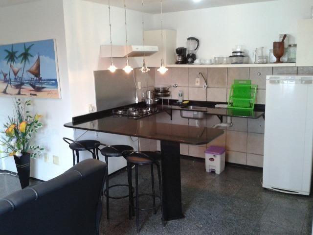 Apartamento, mobiliado em Fortaleza na praia de Iracema - Foto 7
