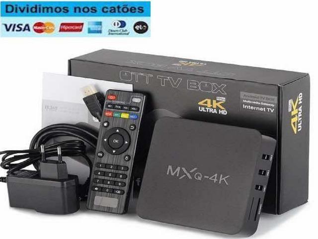 Pronta-entrega-SP> Smart TvBox Android Internet Tv