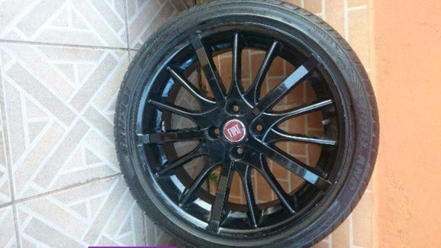 Barbada Roda 17 com pneu Pra vender hje - Foto 4
