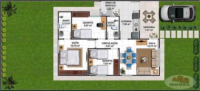 Casa de condomínio à venda com 3 dormitórios em Sim, Feira de santana cod:1999 - Foto 13