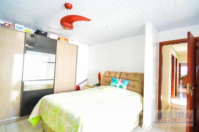 Villarinho vende casa com 3 dormitórios, 1 suíte,124 m² aréa const- terreno 300m² -600.000 - Foto 13