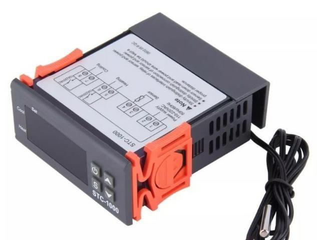 COD-AP16 Termostato Digital Stc-1000 Controlador De Temperatura 220V Automação - Foto 2
