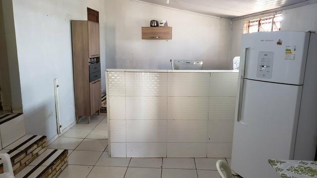 Casa simples com iptu 3quartos lote 270m2 rua 8vila São José Vicente Pires - Foto 6