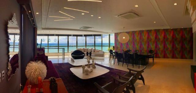 Vendo Cobertura TOP na avenida Boa Viagem com 4 suites - Foto 2
