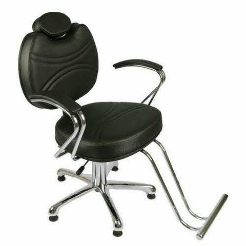Cadeira hidráulica preta (Nova)