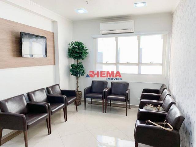 Sala à venda, 78 m² por R$ 590.000,00 - Gonzaga - Santos/SP - Foto 7