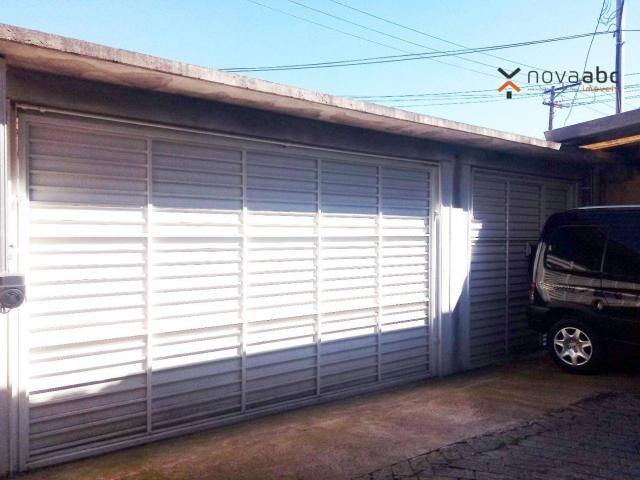 Sobrado com 4 dormitórios para alugar, 260 m² por R$ 4.500,00/mês - Vila Homero Thon - San - Foto 2
