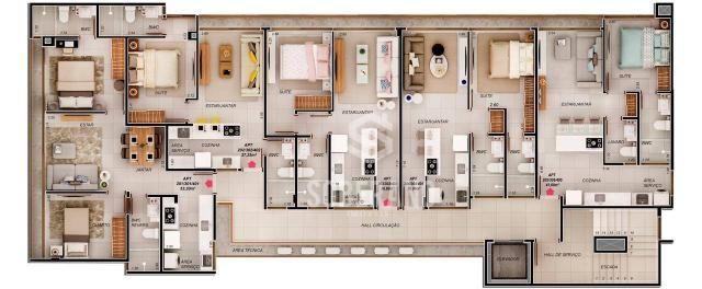 Apartamento com 1 dormitório à venda, 39 m² por R$ 240.000 - Intermares - Cabedelo/PB - Foto 9