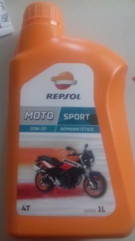 Óleo moto Repsol 10w30 4T