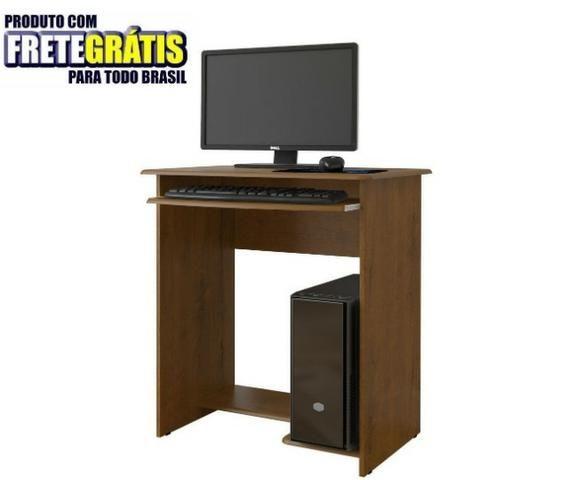 Mesa Computador Pratica S/ Gaveta Ej Moveis - Foto 4