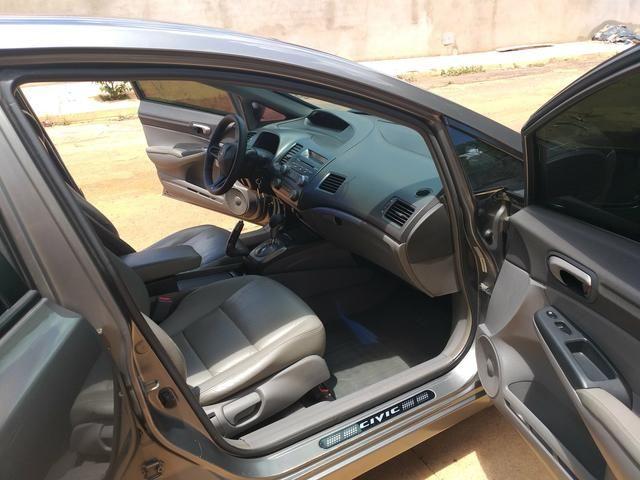 Vende-se Honda Civic Plaza LXS 09/10 1.8 Flex - Foto 8