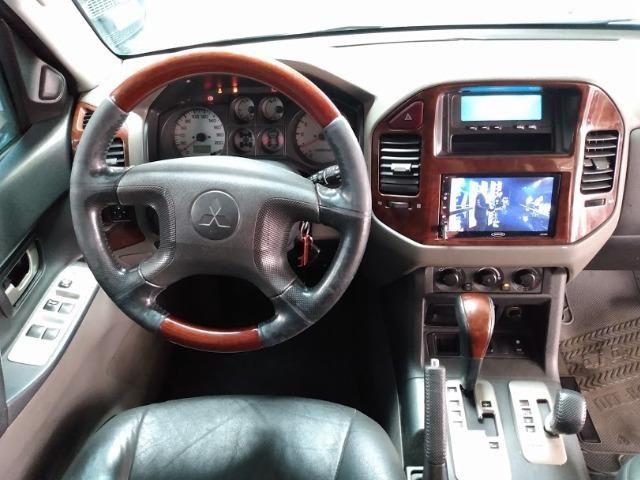 Pajero 3.5 4X4 completa diesel automatica - Foto 9