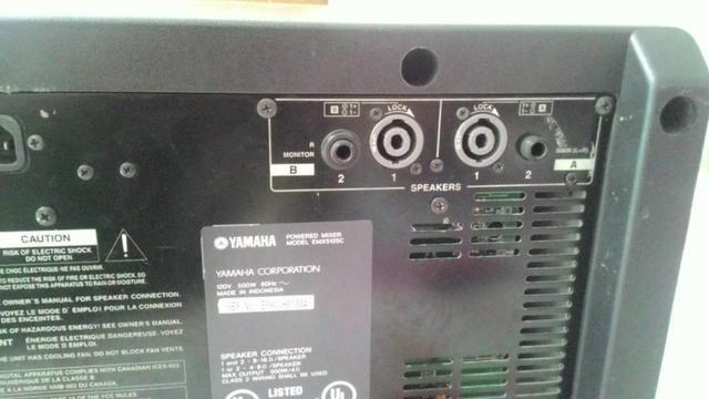 Mixer profissional yamaha emx 512 sc - Foto 6
