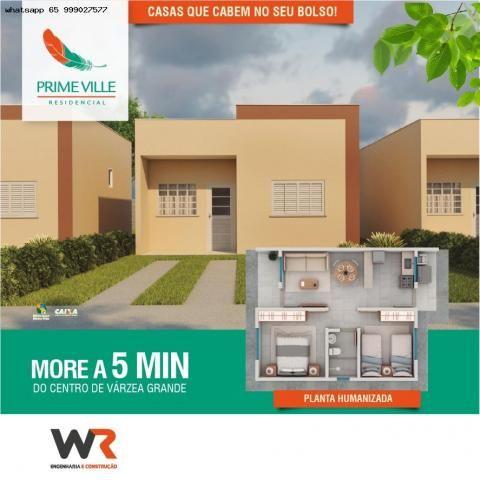 Casa para Venda em Várzea Grande, Paiaguas, 2 dormitórios, 1 banheiro, 2 vagas - Foto 20