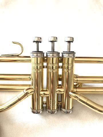 Trombone Weril em dó filé lindo. - Foto 6