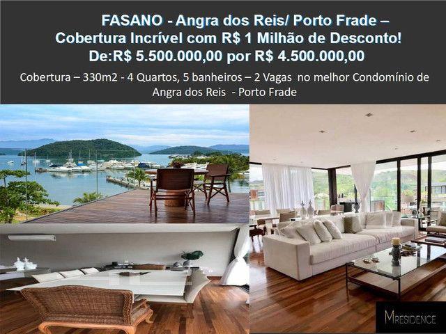 Belíssima cobertura de 5 qts com 320 m2 em Angra dos Reis, Frade - Foto 6