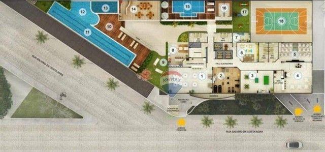 Excelente apartamento à venda, em fase de construção, com 110 m² e área de lazer completa  - Foto 16