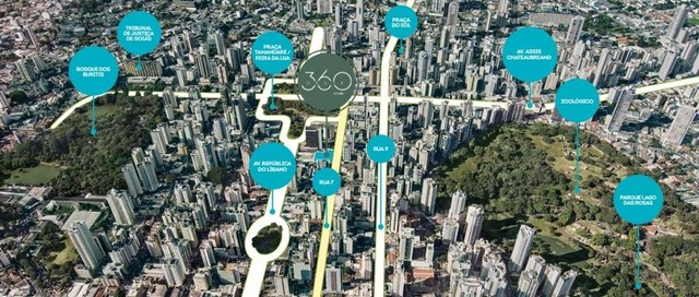 Apartamento com 2 dormitórios à venda, 69 m² por R$ 449.371,34 - Setor Oeste - Goiânia/GO - Foto 11