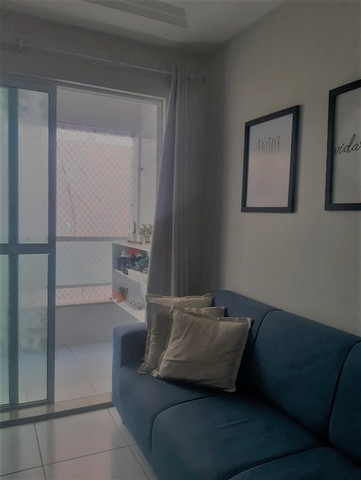 Apartamento em Intemares com 3 quartos e varanda. Pronto para morar - Foto 2