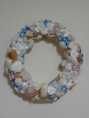Guirlanda conchas do mar - Foto 4