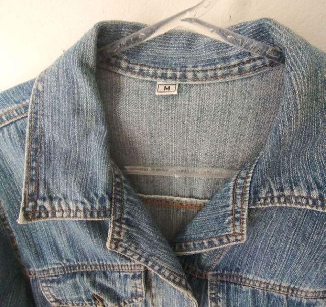 Jaqueta Jeans 25 Years tamanho M  - Foto 4