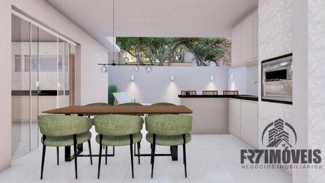 Bela Casa Parque das Flores  3Qs 1S com Área Goumert e Piscina aquecida - Foto 16