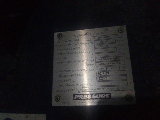 Compressor de ar seminovo - Foto 2