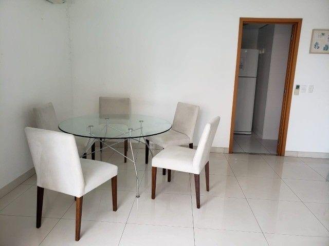 (Condomínio Bellagio) apartamento c/ 3 suítes + 147m², mobiliado - Foto 4